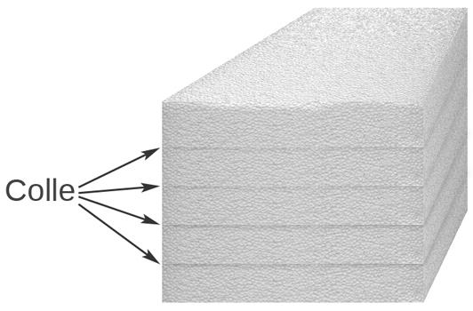 Diy r alisation d 39 un d cor style canyon pour terrarium - Coller du polystyrene ...
